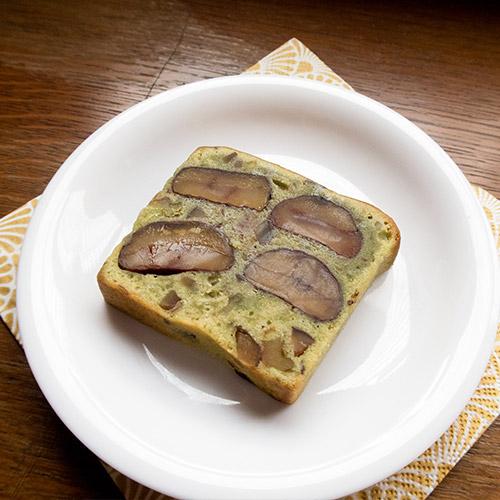 ごろごろ栗のケーキ